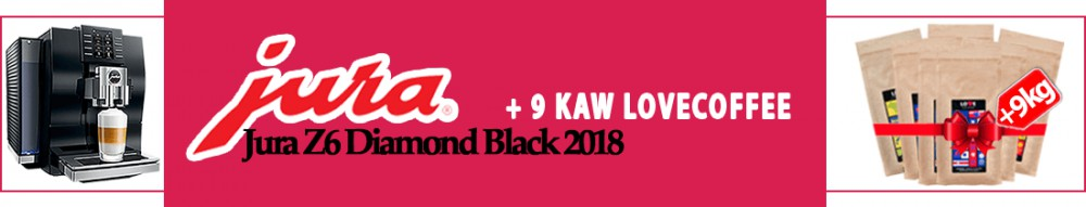 Jura Z6 Diamond Black 2018 kawa gratis