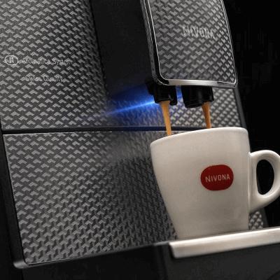 Ekspres do kawy Nivona Caferomatica 789 widok boczny z góry