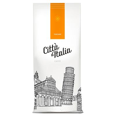 Kawa ziarnista Citta D'Italia Tuscany 1 kg