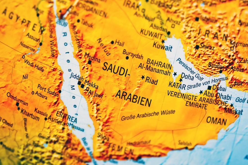 Arabia Saudyjska to państwo położone w zachodniej Azji, na Półwyspie Arabskim