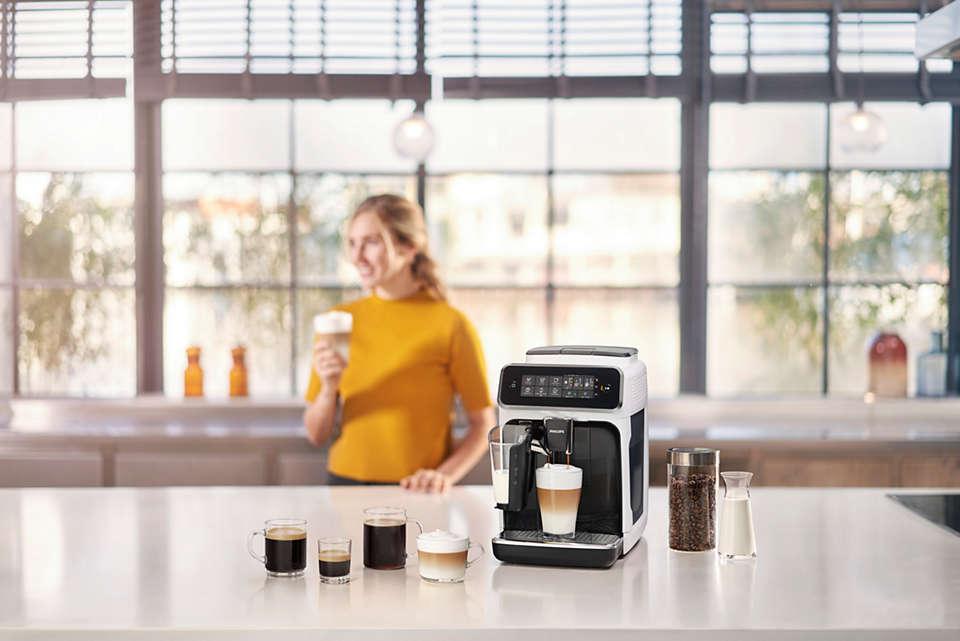 Philips 3200 - rodzaje kaw
