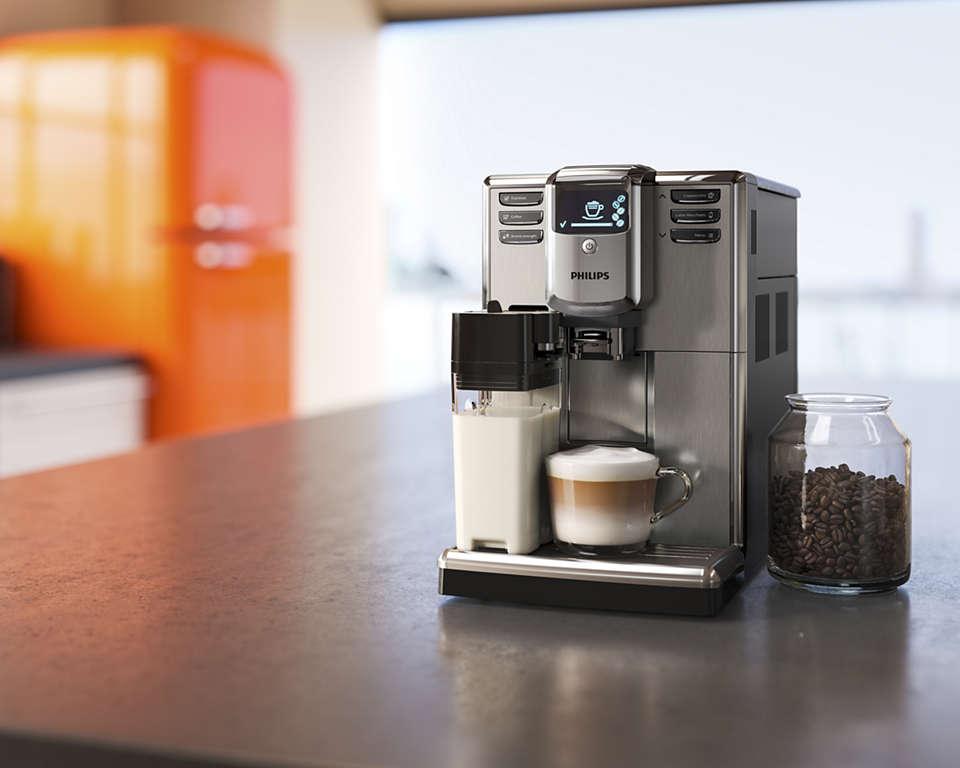 ekspres do kawy Philips 5000 - nowoczesny design