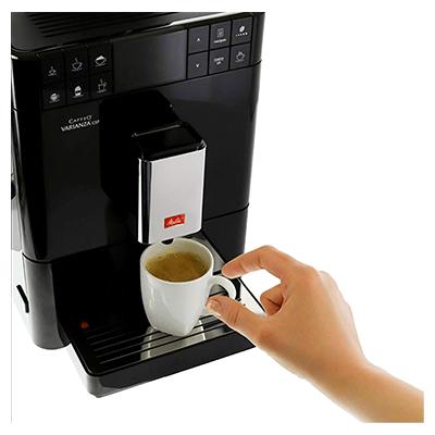 Melitta Caffeo Passione OT F53/1-102 Czarny