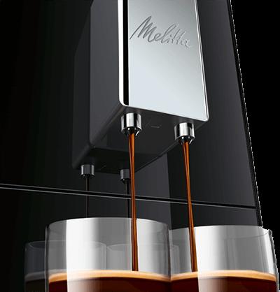 Melitta Caffeo Solo E950-101 z kawami
