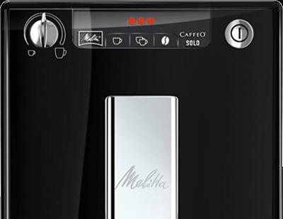 Melitta Caffeo Solo E950-101 wyświetlacz