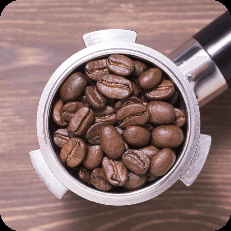 Kolba ekspresu z kawą Lavazza