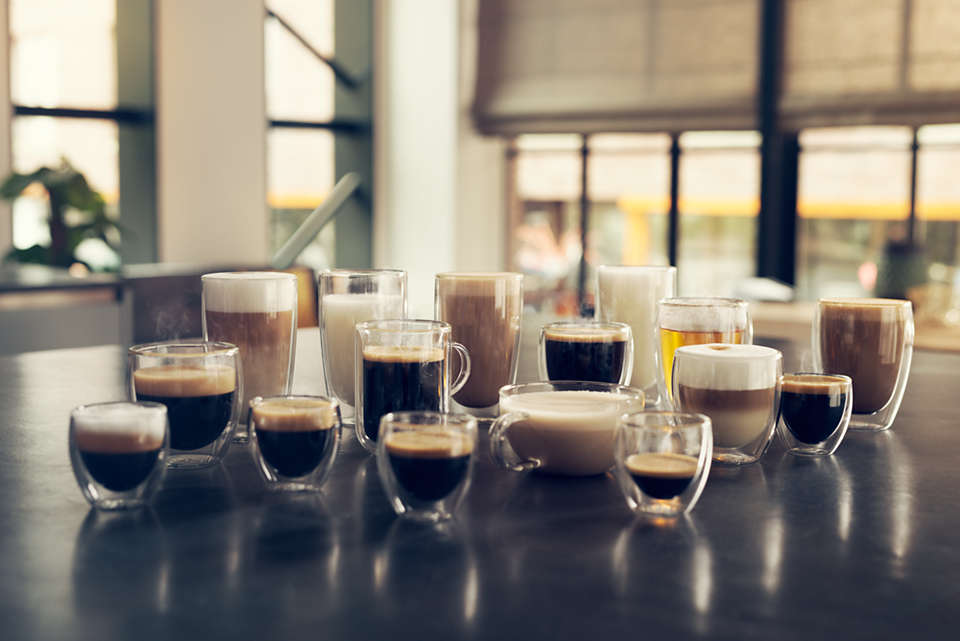 rodzaje kaw w ekspresie Saeco Xelsis