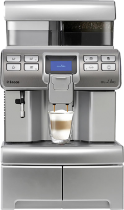Saeco Aulika Top High Speed Cappuccino RI Antracyt-1