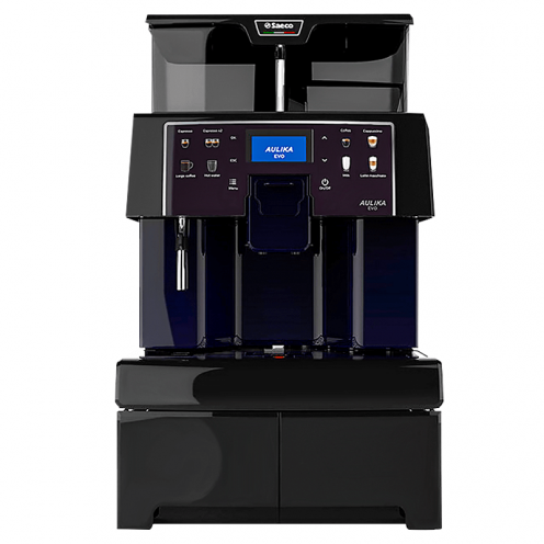 Saeco Aulika Evo Top High Speed Cappuccino Black RI-1