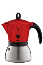 Bialetti Moka Induction Red 3 filiżanki
