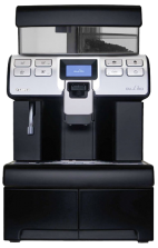 Saeco Aulika Top High Speed Cappuccino Black