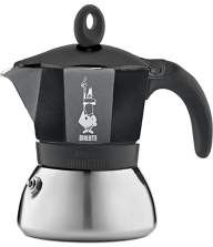 Bialetti Moka Induction Czarna 6 filiżanek