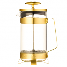 French Press Barista & Co - 3 Cup Plunge Pot - Gold