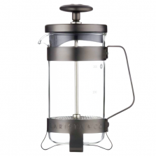 French Press Barista & Co - 3 Cup Plunge Pot Gunmetal