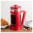 French Press Bialetti Red 1000ml w domu