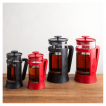 French Press Bialetti Red 1000ml w kolorach
